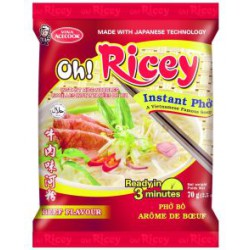 OH! RICEY - Instant Beef Flavour 70g